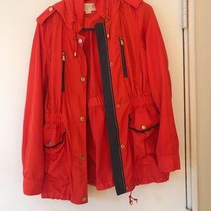 Michael Kors Blood Orange RainCoat